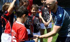 (FOTO) Dječiji festival ragbija u Zenici okupio 450 mališana iz Italije, Hrvatske, Srbije i BiH